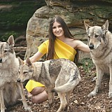 Lyubov with wolves
